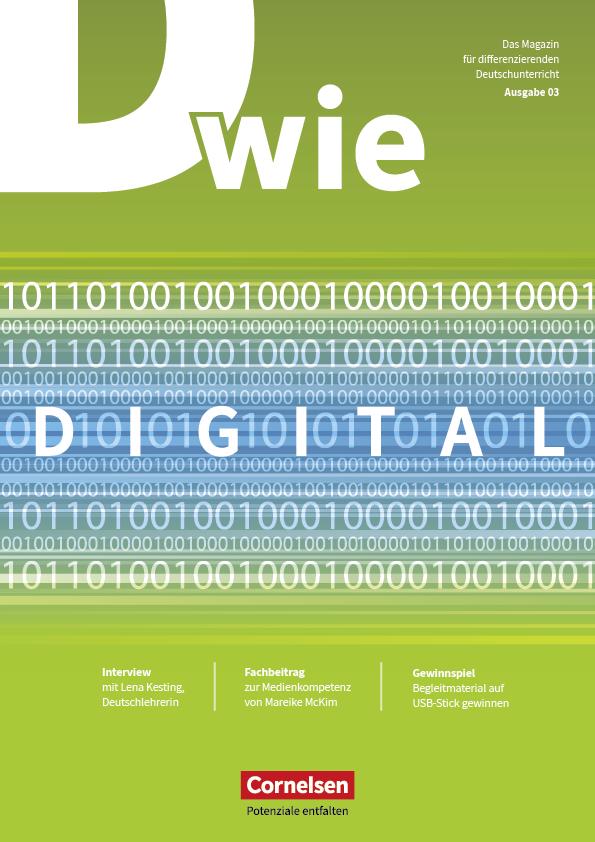 Magazincover: D wie Digital - Magazin Ausgabe 3