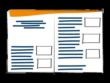 DwD - Seitenaufbau orange