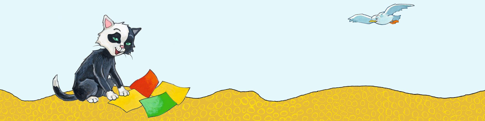 Kinderleichte Nachmach-Ideen rund um den Kater Tinto gesucht!