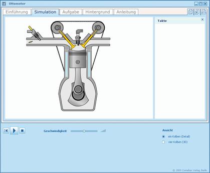 Simulation Ottomotor Interaktiv
