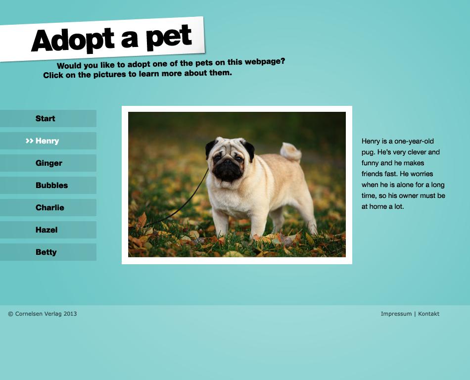 EG Adopt a pet